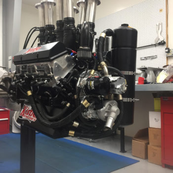 360 Sprint Car Engine Photo