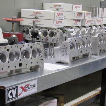 Kistler Racing Engines - Cylindar Head Area
