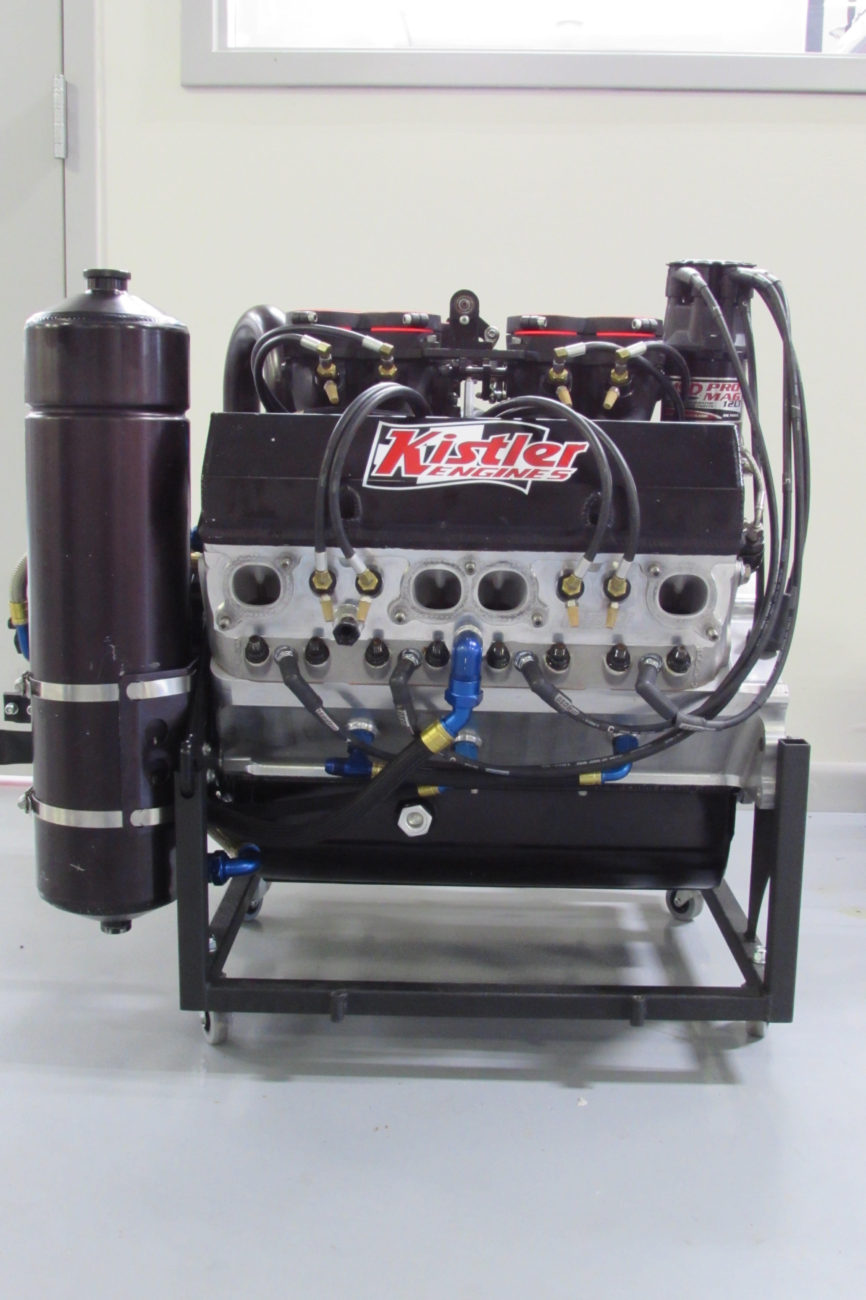 The Engine Room Design: Kistler Engines